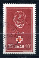 F0010 - SAARLAND - Mi. 292, Gestempelt (Rotes Kreuz) - Used Stamps