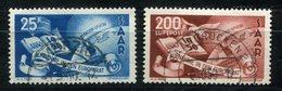 F0012 - SAARLAND - Mi. 297/298, Gestempelt (nur 298 Berechnet) - Used Stamps