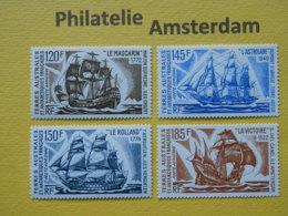 French Antarctic Terr. (TAAF) 1973, SHIPS BATEAUX SCHEPEN SCHIFFE NAVES: Mi 85-88, ** - Barcos
