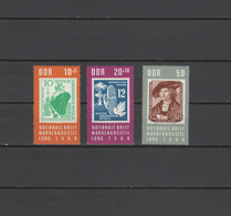 DDR 1964 Paintings Albrecht Dürer - Durer Set Of 3 MNH - Otros