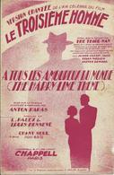 Partition De Anton KARAS - A Tous Les Amoureux Du Monde (Film : Le Troisième Homme) - Scores & Partitions