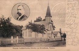 Evang. Lutherische Kirche Zu Brenham, Texas, 1907. - Vereinigte Staaten