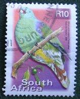 R10 Flora And Fauna GREEN PIGEON Bird Vogel  2000 Mi 1309 Y&T - Used Gebruikt Oblitere SUD SOUTH AFRICA RSA - Afrique Du Sud (1961-...)