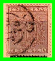 ESPAÑA SELLO AÑO 1874 DE AMADEO I 10 CENTIMOS DE PESETA - 1872-73 Reino: Amadeo I