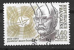 FRANCE 2153 Pasteur Marc Boegner  . - Usati