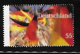 Germany 2009 Basic Law Berlin Wall Brd Flag MNH - [7] Repubblica Federale