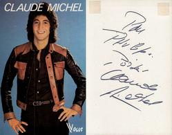 Claude Michel, Avec Dédicace - Célébrités