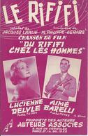 """Partition De Lucienne DELYLE Aimé BARELLI - Le Rififi (film """"Du Rififi Chez Les Hommes"""") - Scores & Partitions"""