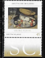 Germany 2009 Art Still Life With Cherries Food Meal MNH - [7] Repubblica Federale