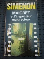 SIMENON: Maigret Et L'inspecteur Malgracieux / PRESSES DE LA CITE 1983 - Non Classés