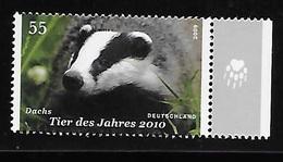 Germany 2009 European Badger Fauna MNH - [7] Repubblica Federale