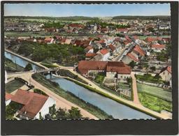 CPSM Herbitzheim Edition Lapie N°1 Le Canal Des Houillères - France
