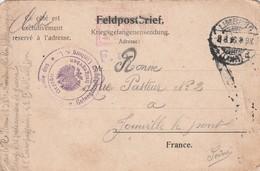 08-08-1916 : Carte De Prisonnier Français Du Limburg (Lahn), - Otros