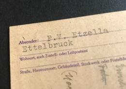 NEW - ETTELBRUCK  1944  FC  ETZELLA   Occupation Ww2 1940 1945 Football Fussball - Ettelbruck
