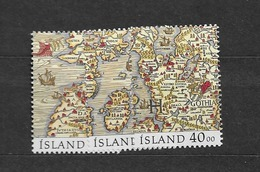 1990 MNH Iceland, Stamps From Block 11 - Ongebruikt