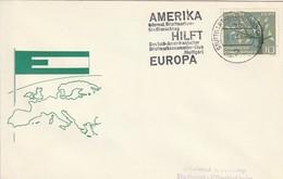 """Obl. Mécan. Illust. Sur Env. """"Deutsch-Amerikaner Briefmark. - Club"""" (Stuttgart, 7) Du 09-02-1963 - Storia Postale"""