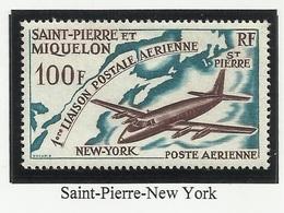 SAINT PIERRE ET MIQUELON SPM PA N° 31 Neuf Avec Charnière * 1964 - Neufs
