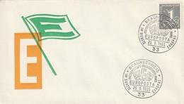"""Obl. Illust. Sur Env. """"Europosta"""" (Braunschweig, 33) Du 25-09-1965 - Storia Postale"""