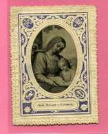 CANIVET - Image Gaufrée - Vierge Et Enfant - - Devotion Images