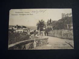 1907  MONTECATINI TERME     PASSEGGIATA DELLE MURA    ANIMATA - Pistoia