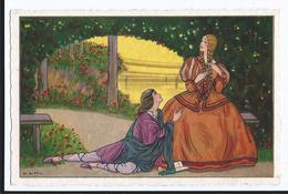 Gobbi    Couple Romantique CPSM  Pas écrite  Ed Italie Elite - Illustrateurs & Photographes