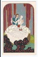 Non Identifié  Couple Romantique CPSM  Pas écrite  Ed Italie Degami - Otros Ilustradores