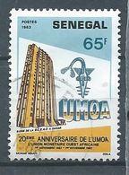 Sénégal YT N°596 Union Monétaire Ouest-africaine Oblitéré ° - Senegal (1960-...)