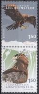 2019 - LIECHTENSTEIN - EUROPA  CEPT - UCCELLI / BIRDS - SET COMPLETO. MNH. - 2019