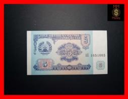TAJIKISTAN 5 Rubles  1994  P. 2  UNC - Tayikistán