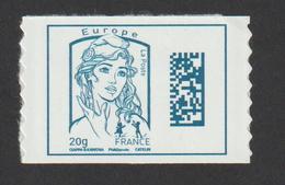 "TIMBRE  2016       -  Adhésif   N° 1216  -    Marianne De  Ciappa Et Kawena  -  ""Europe""    Neuf - France"