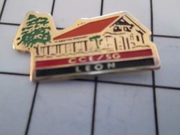 716c Pin's Pins / Beau Et Rare / THEME : BANQUES / SOCIETE GENERALE LYON CCE COMITE CENTRAL DU PARTI DES VORACES - Banken