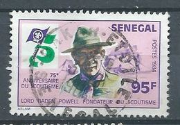 Sénégal YT N°610  Scoutisme Lord Baden Powell Oblitéré ° - Senegal (1960-...)