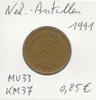 Nederlandse Antillen - 1 Gulden - 1991 - KM 37 - Antilles Neérlandaises