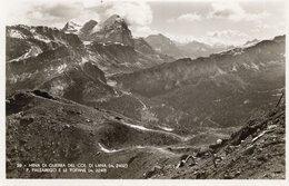 MINE DI GUERRA Al COL DI LANA - FORMATO PICCOLO - (rif. V45) - Guerra 1914-18