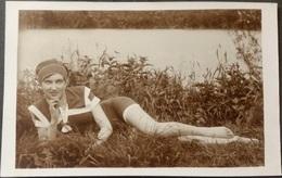 Ak Frau - Landschaft - Frauen