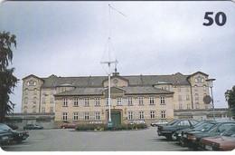 Denmark, R 036b, Prisoncard, Horsens State Prison, 2 Scans.  Only 8.000 Issued. - Denemarken