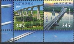 2018 - UNGHERIA / HUNGARY - EUROPA  CEPT - PONTI / BRIDGES. MNH. - 2018