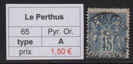 Le Perthus - Pyrenees Orientales - Type Sage - Marcofilia (Sellos Separados)