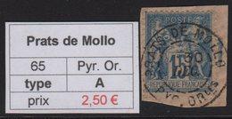 Prats De Mollo - Pyrenees Orientales - Type Sage - Marcofilia (Sellos Separados)