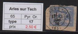 Arles Sur Tech - Pyrenees Orientales - Type Sage - Marcofilia (Sellos Separados)
