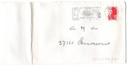 HERAULT - Dépt N° 34 = LUNEL 1987 =  FLAMME Type II = SECAP Illustrée Thème VIN / MUSCAT ' Petite Camargue TAUREAUX ' - Marcophilie (Lettres)