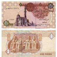 Billet Egypte 1 Pound - Egypte