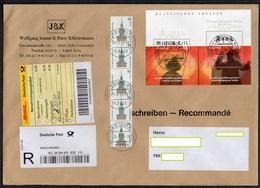BRD 2004, 2013 MiNr. 2391/ 2392 (Block 65), +++++R-  Brief/ Letter ;   Versandporto/ Postage!! (great Size) - [7] Federal Republic