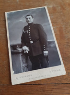MANN IN DEUTSCHLAND DAZUMAL - OPPELN - R. HEIMANN - STOLZER SOLDAT IN POSE - AUSZEICHNUNG - Krieg, Militär