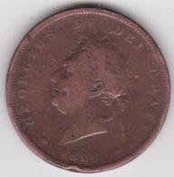 Grande-Bretagne. 1 Penny 1826. George IV. - D. 1 Penny