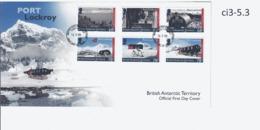 Ci3 BAT FDC Port Lockroy Station                   Antarctique Britannique - FDC