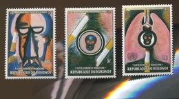 1990.  Lutte Contre Tabagisme. Tabac Tobacco Série 3v 963/965 ** COB - Burundi