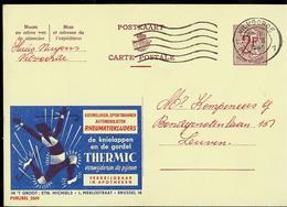 Publibel Obl. N° 2069 ( THERMIC  ) Obl. Vilvoorde  1 1 Du 20/02/67 - Stamped Stationery