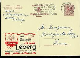 Publibel Obl. N° 2051  ( Eau Minérale: LEBERG)  Obl. Antwerpen X X  De 1965 - Stamped Stationery