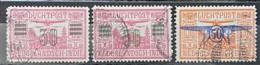 NETHERLANDS INDIES 1930/32 - Canceled - Sc# C11, C12, C17 - Air Mail - Nederlands-Indië